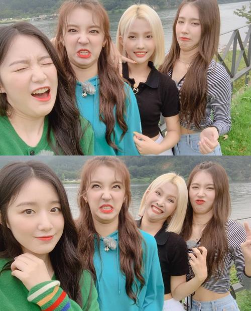Bốn cô gái (G)I-DLE