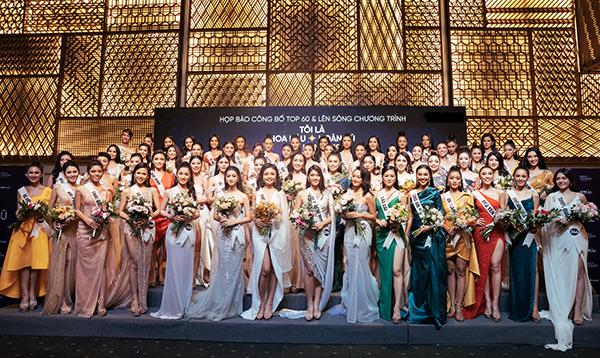 Hoa hậu Hoàn vũ VN 2019 công bố Top 60