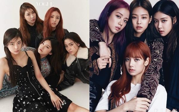 Cũng giống như Black Pink,ITZY thường xuyên xuất hiện trên các tạp chí thời trang ở Hàn Quốc.