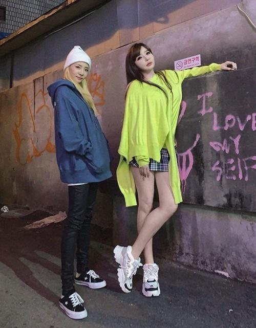 Dara và Park Bom