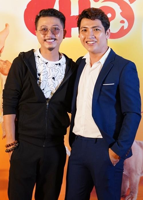 Hứa Minh Đạt và đạo diễn Ngụy Minh Khang.