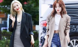 10 cách biến blazer cứng nhắc thành trẻ trung của idol Hàn