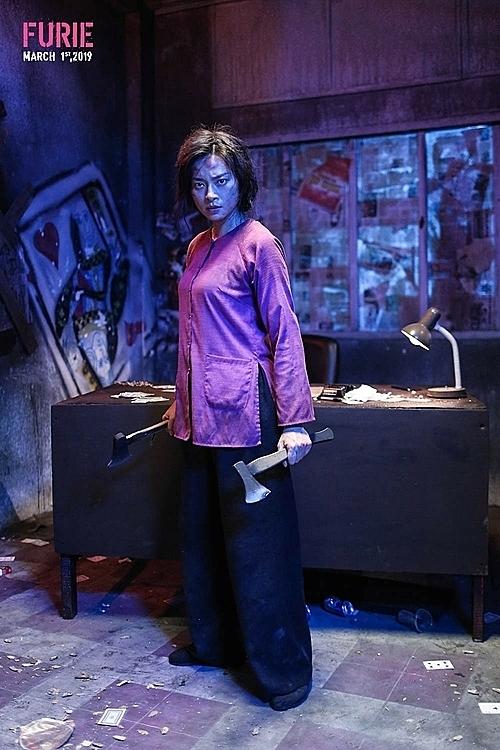 Tạo hình vai Hai Phượng của Ngô Thanh Vân.