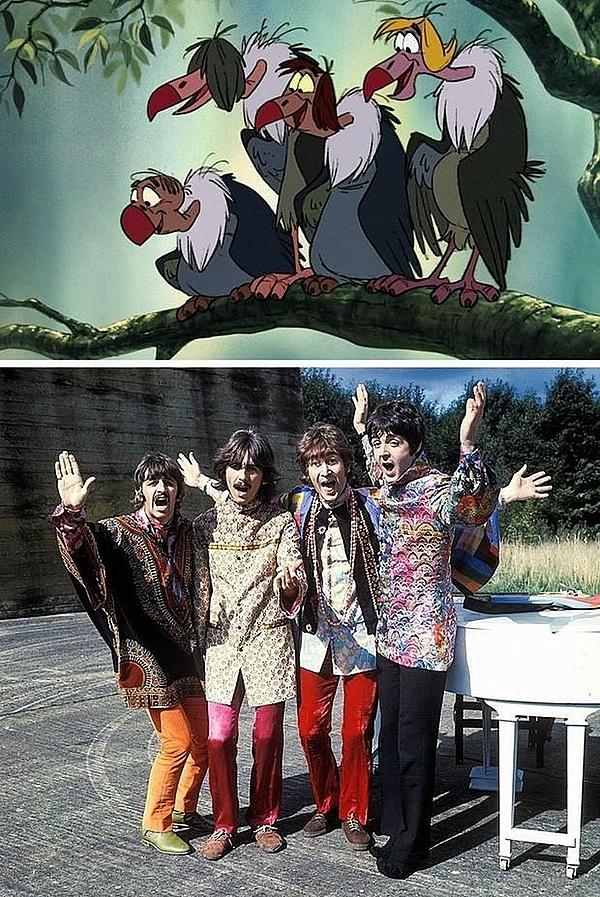 Nhóm nhạc The Beatles!