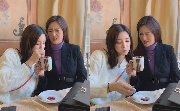 Bomi (Apink) có biểu cảm bùng cháy siêu hài khi bị Cho Rong uống ké.