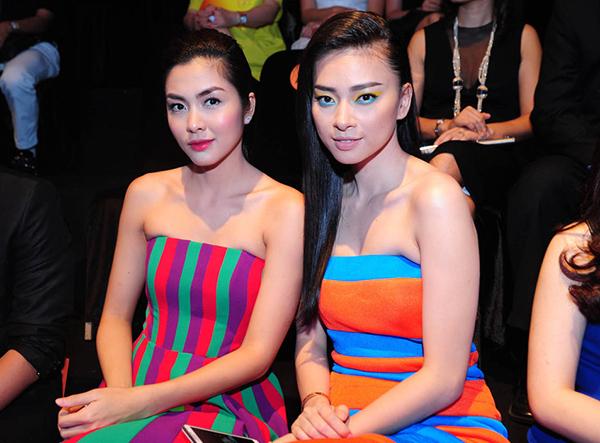Ngô Thanh Vân hơn Tăng Thanh Hà 7 tuổi. Cả hai là cặp chị em khăng khít nhiều năm nay trong Vbiz. Nhiều người nhận xét Vân Ngô và Hà Tăng đều có vẻ đẹp thanh lịch, sang trọng.