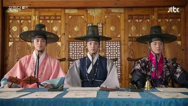 Ba thành viên mỹ nam của biệt đội mai mối Flower Crew.