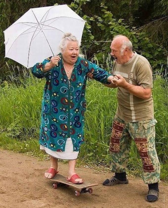 <p> Bạn không bao giờ quá già để học một cái gì đó mới cùng nhau.</p>