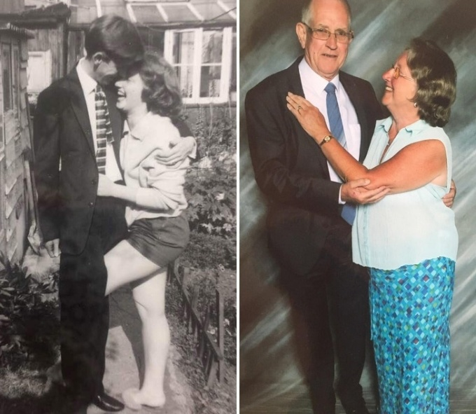 <p> 50 năm sau, họ vẫn hoàn toàn say mê nhau.</p>