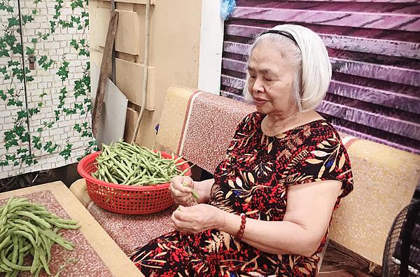 Bà Phạm Thị Hiền.