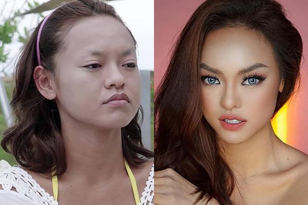Trong một chương trình truyền hình thực tế hồi năm 2016, Mai Ngô để lộ mặt mộc không lông mày. Hình ảnh của cô khi đó đã thành nguồn cảm hứng bất tận cho các thánh ảnh chế đến sau này. Tuy nhiên chỉ cần được kẻ vẽ kỹ lưỡng, dung nhan của nữ người mẫu lập tức biến hóa khác biệt.