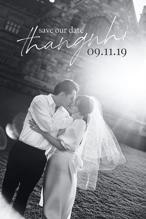 Ông Cao Thắng chúc mừng sinh nhật độc thân cuối cùng của Đông Nhi bằng tấm ảnh cưới ngọt ngào. Cả hai cũng thông báo ngày lên xe hoa sẽ là 9/11.