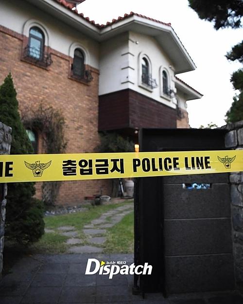 Nhà riêng của Sulli - nơi cô treo cổ tự tử ở tầng 2. Ảnh: Dispatch