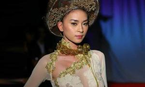 Ngô Thanh Vân lên tiếng khi bị chỉ trích 'mặc áo dài không nội y'