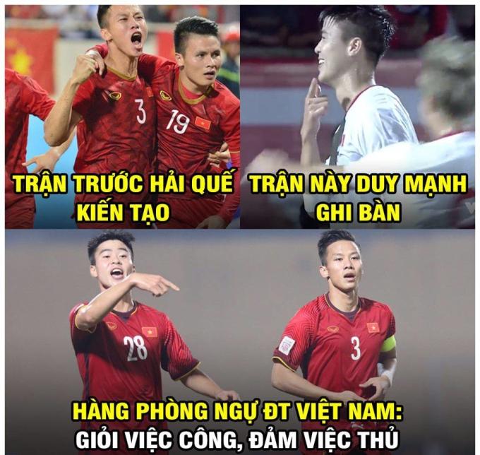 <p> Trung vệ đội trưởng Việt Nam không mắc sai lầm nào khi đá phạt đền kiểu nhấc chân quen thuộc, đánh lừa thủ môn Ridho.</p>