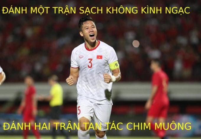 <p> 18h30 (giờ Hà Nội) ngày 15/10, Việt Nam gặp Indonesia trên SVĐ Kapten I Wayan Dipta, trong khuôn khổ bảng G vòng loại World Cup 2022 khu vực châu Á. Thầy trò ông Park Hang-seo đã giành chiến thắng 3-1. Sau 3 trận, học trò thầy Park thắng 2 trận ghi 4 bàn và bất bại. Thành tích này khiến CĐV tự hào.</p>
