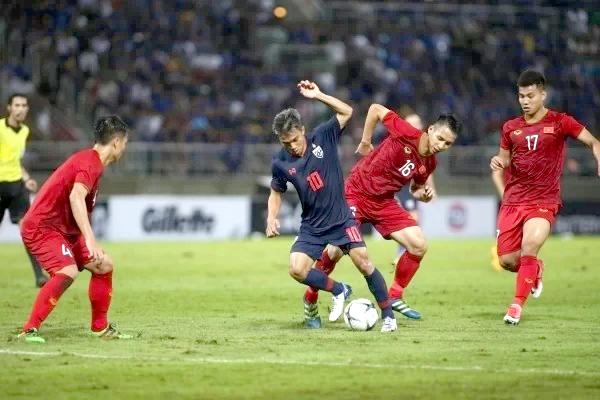 Thái Lan gặp Việt Nam ở trận đầu tiên vòng loại thứ hai World Cup 2022. Ảnh: Đức Đồng.