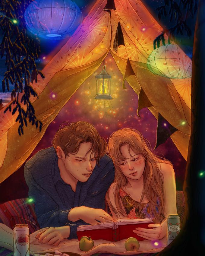 <p> Tình yêu là khi bạn thoải mái dựa đầu vào vai người ấy để quên hết những chuyện mệt mỏi ở thế giới ngoài kia.</p>