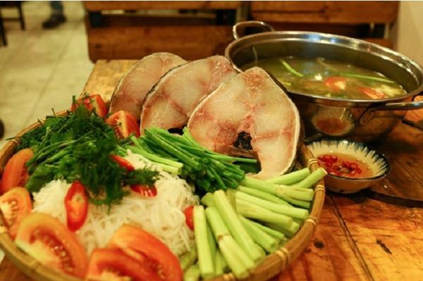 Thịt cá bóptươi ngon,béo ngậy, không tanh, lại nhiều dinh dưỡng nên có thể chế biến rất nhiều món ngon như nấu canh chua, nấu lẩu, kho...Ảnh: Nguyễn Hà.