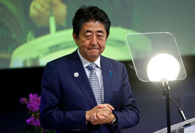 Thủ tướng Nhật BảnShinzo Abe.
