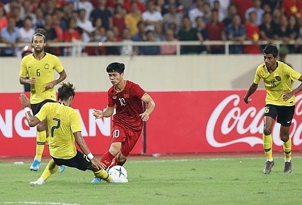 Công Phượng được HLV Park trao cơ hội khi đối đầu Malaysia. Ảnh: Đức Đồng