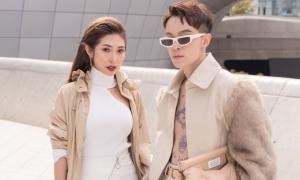 Khổng Tú Quỳnh - Kelbin Lei 'chất chơi' ở Seoul Fashion Week