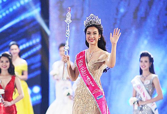 4 chiếc vương miện đắt đỏ của Hoa hậu Việt Nam