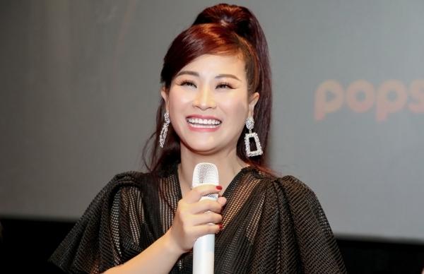 Kiều Linh không ngại chuyện cạnh tranh với đàn em khi làm web drama.