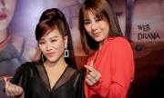 Nam Thư không dám cãi Kiều Linh khi làm phim ma