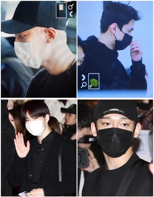 EXO có tâm trạng khác buồn vã và mặc màu trầm.