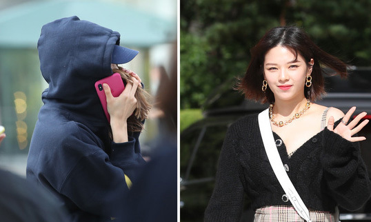 Khoảnh khắc đáng yêu của Na Yeon - Jeong Yeon ở sự kiện