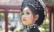 Con gái danh thủ Hồng Sơn diện áo dài