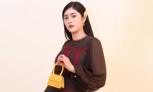 Huỳnh Tiên dự show của nhà mốt nổi tiếng ở Seoul Fashion Week