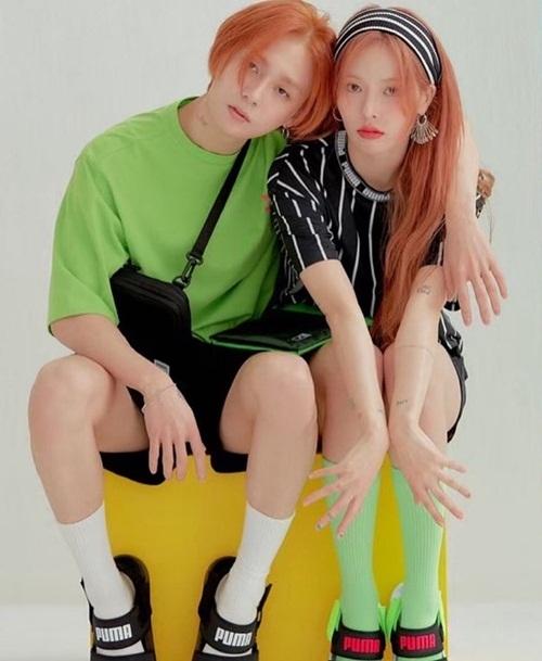 Hyuna và bạn trai Dawn (nghệ danh trước là EDawn) sẽ tung album solo đồng loạt vào 5/11.