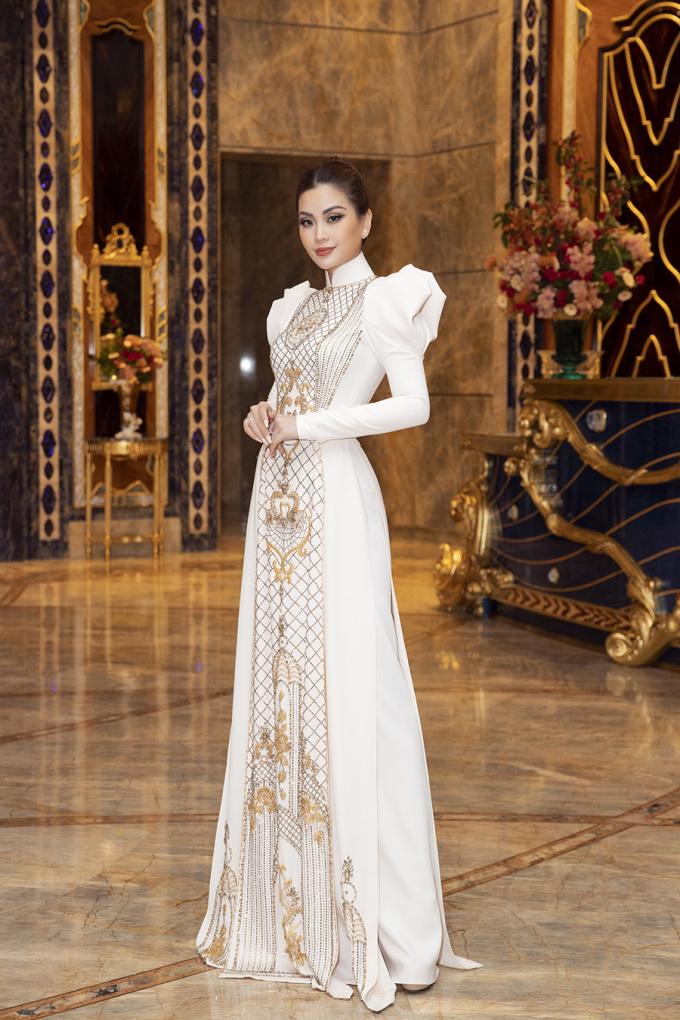 <p> Á hậu Diễm Trang.</p>