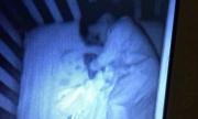 'Em bé ma' nằm trong cũi gây sửng sốt