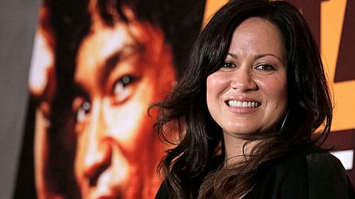 Lý Hương Ngưng (Shanon Lee) - con gái cố võ sĩ (Ảnh: Vincent Yu/Shutterstock).