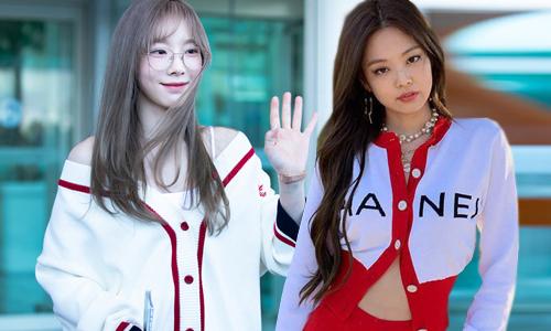 5 cách mặc cardigan hay ho của idol Hàn
