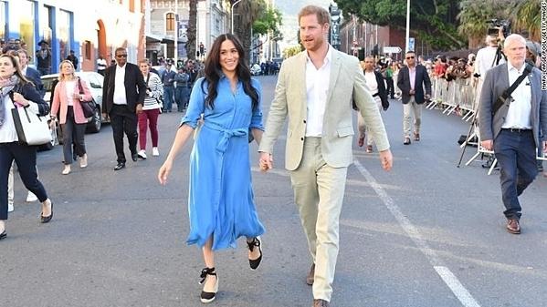 Meghan và Harry đến thăm Cape Town, Nam Phi, trong chuyến công du châu Phi vào tháng 9.