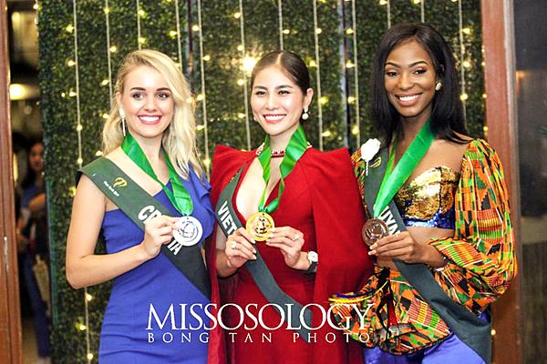 Ba thí sinh chiến thắng ở nhóm Nước.