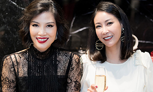 Dàn mẫu thế hệ đầu mừng sinh nhật Vũ Cẩm Nhung
