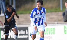 Văn Hậu kiến tạo thành bàn cho đội trẻ Heerenveen