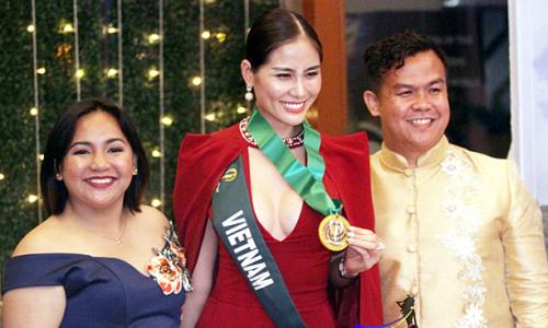 Hoàng Hạnh xếp thứ 5 bảng tổng sắp huy chương Miss Earth
