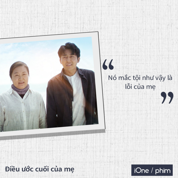 <p> <em>Điều ước cuối của mẹ</em> (<em>The Big Shot</em>) đặt bối cảnh tại một làng chài nghèo. Bà mẹ Soon Ok (Kim Hae Sook) sống cùng con trai Ki Kang (Son Ho Jun) và con gái Ki Soon (Nam Bora). Ki Kang là một gã trai trẻ ham chơi, bướng lì và không sợ bất kỳ ai. Để có tiền đi club gặp gỡ các cô gái, anh và nhóm bạn không ngần ngại ăn cắp của những người dân trong vùng.</p>