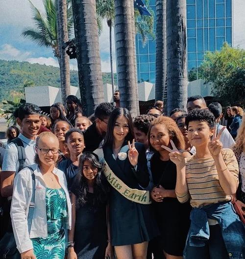 Tháng 6/2019, Phương Khánh tham giasự kiện hưởng ứng Ngày Môi trường thế giới (5/6) tại đảo Reunion. Với cương vị Hoa hậu Trái đất 2018, Phương Khánh có bài phát biểu gây chú ý quanh chủ đề Làm thế nào để chống lại sự nóng lên toàn cầu một cách hiệu quả.