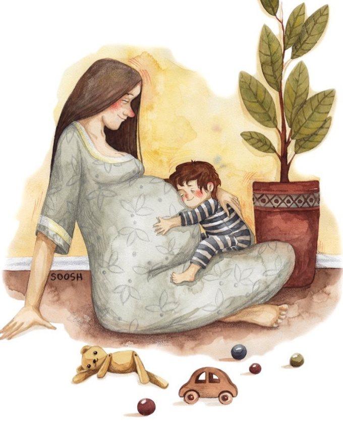 <p> Bạn có biết mẹ hạnh phúc và mỉm cười nhiều đến thế nào khi biết một sinh linh đang dần lớn lên trong cơ thể mình...</p>