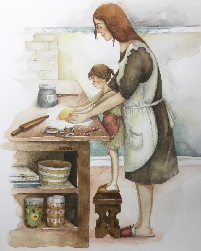 <p> Mẹ biết mình không thể yêu thương, che chở cho con suốt cả cuộc đời, vậy nên hãy hiểu cho mẹ nếu mẹ muốn uốn nắn bạn vào khuôn phép, dạy bạn làm việc nhà.</p>
