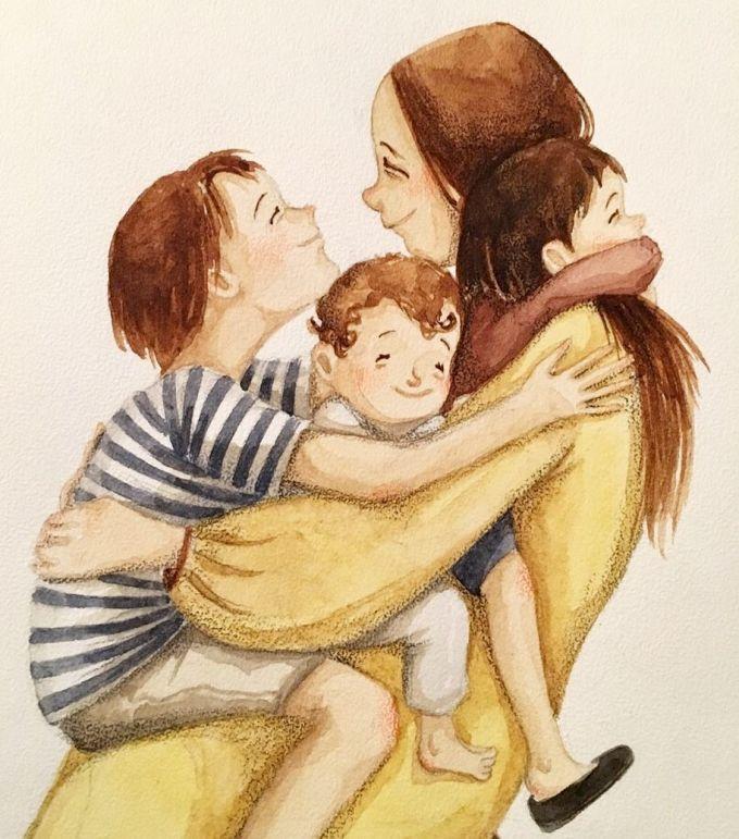 <p> Với mẹ, chẳng thể nói yêu đứa con nào hơn, tất cả đều là giọt máu của mẹ.</p>