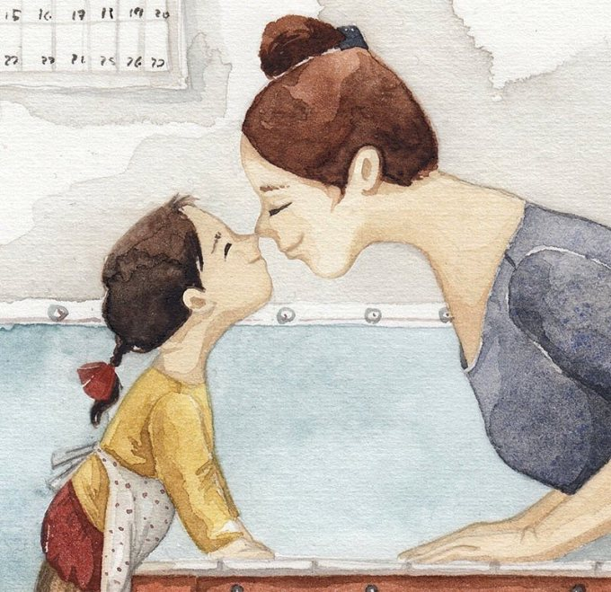 """<p> Một câu nói """"Con yêu mẹ"""" chẳng thể xứng với tình cảm bao la mà mẹ dành cho bạn nhưng đừng ngại ngần mà không nói ra, đừng ngại thể hiện tình cảm với mẹ khi còn có thể.</p>"""