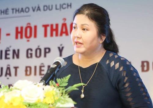Bà Nguyễn Thị Thu Hà.